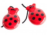 Spanish Castanets red black