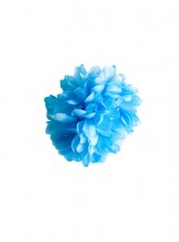 Hair Flower blue