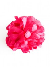 Hair Flower dark pink XL