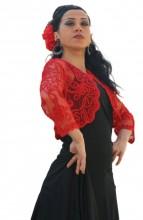 Spanish Torera, red, black, white