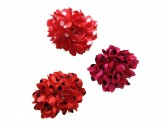 Flamenco Hair Flower with dots small