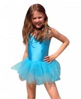 Child Leotard Tutu blue