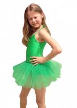 Child Leotard Tutu green