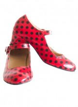 Flamenco Shoes Polkadots