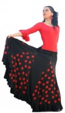 Flamenco dance skirt women