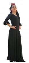 Flamenco skirt black ladies