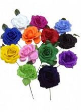 Flamenco Hair Roses