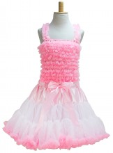 Princess Dress Elvira DeLuxe pink white
