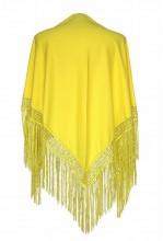 Flamenco Shawl plain bright yellow