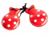 Spanish Castanets red white