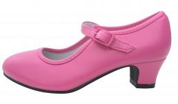Flamenco shoes dark pink