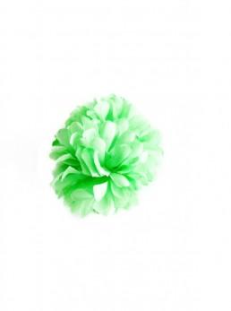 Hair Flower lime green